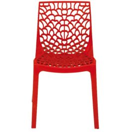 Neptune Polypropylene Chair Rosso Red