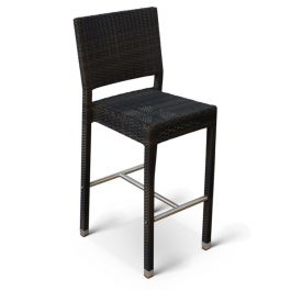 Rattan Ascot Bar Chair