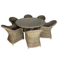 Regent 6 Seat Set with 1.5m Round Table