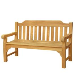 The Balmoral (5ft) Three Person Teak Bench