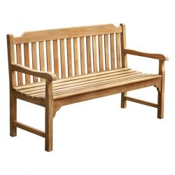 The Eden (5ft) Three Person Teak Bench