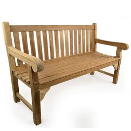 The Queensbury (5ft) Three Person Teak Bench