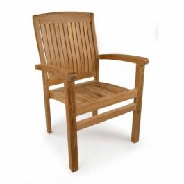 The Harston Stacking Teak Chair