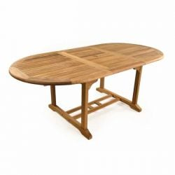 The King John Extending Teak Table