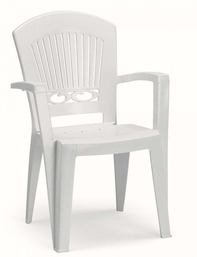 SCAB Eight Seater President Dining Set 3m x 0.95m in White