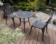 Belleu Cast Aluminium Bistro Set