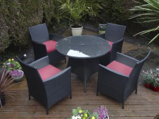 Majorca 5 Piece Dining Set