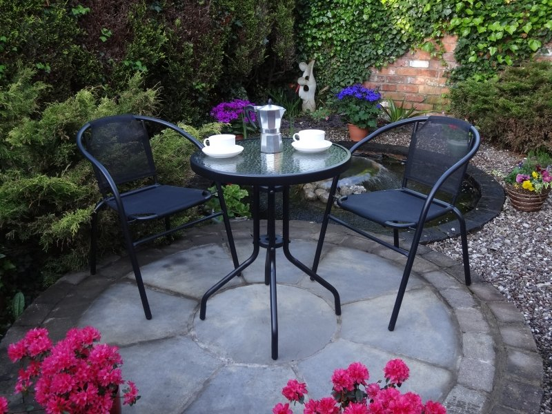 2 Seater Synthetic Bistro Set