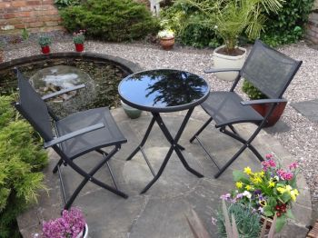 Braga Synthetic 2 Seater Bistro Set