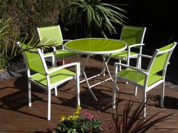 Catagena Green Synthetic 5 Piece Set