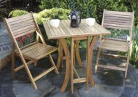 Hardwood Saigon Bistro Set