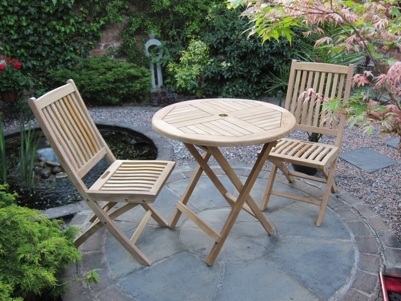 The Pasadena Teak Bistro Set