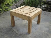 Teak Small Square Table
