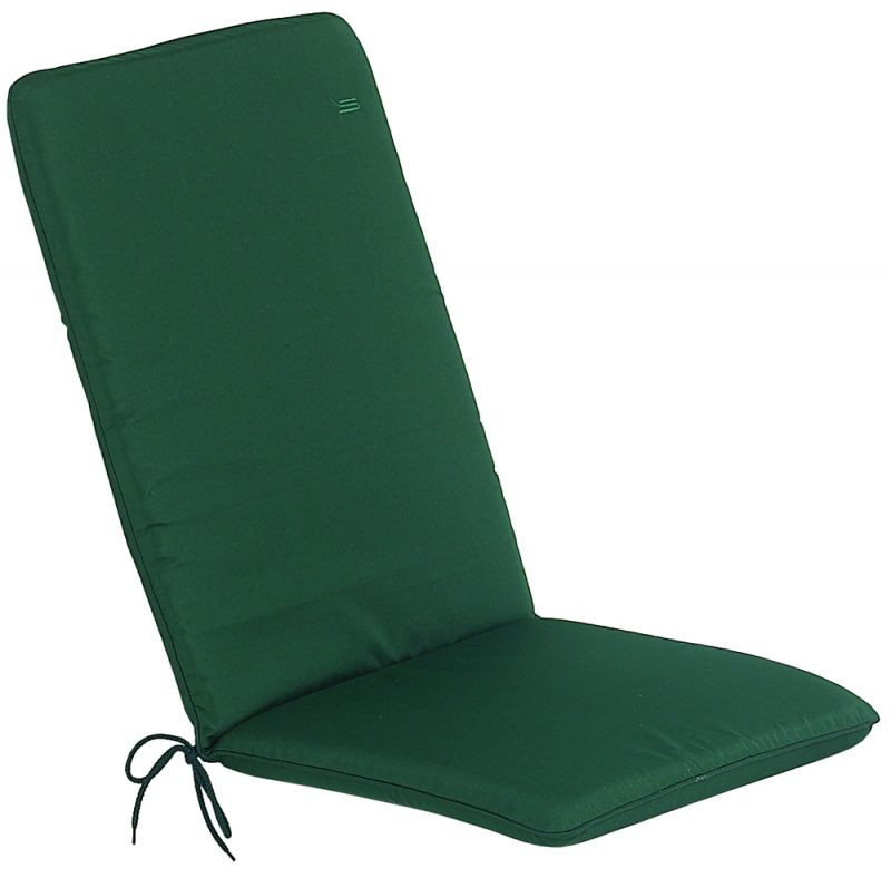 Green Seat Cushion/Pad With Back Cushion CC Range Pack of 2