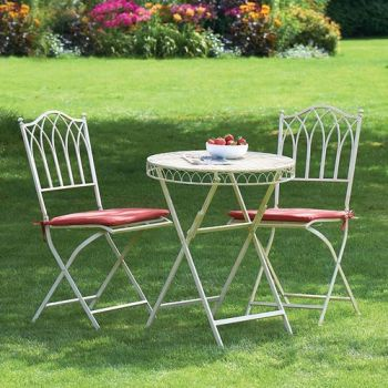 Seat Pads (2 Pack) Terracotta for the Versailles Bistro Set