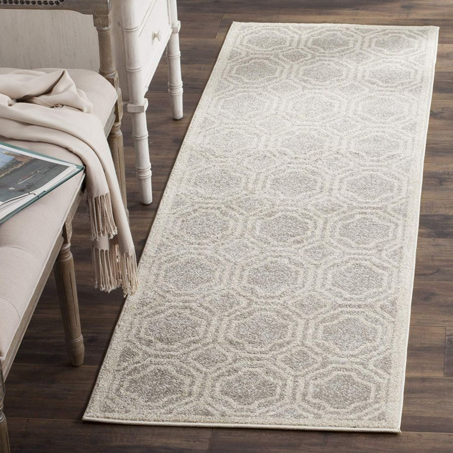 Ferrat Outdoor Rug Light Grey / Ivory (121 X 182 cm)