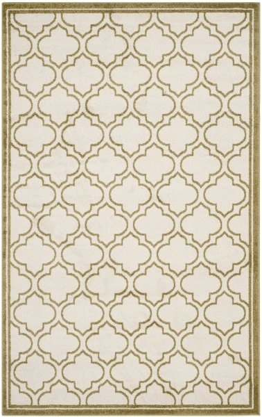 La Salis Outdoor Rug Ivory / Light Green (152 X 243 cm)