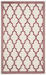 La Pelosa Outdoor Rug Ivory / Red (152 X 243 cm)