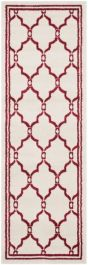 La Pelosa Outdoor Rug Ivory / Red (76 X 121 cm)