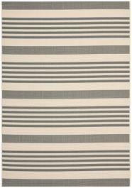 Gemma Outdoor Rug Grey / Bone (121 X 170 cm)