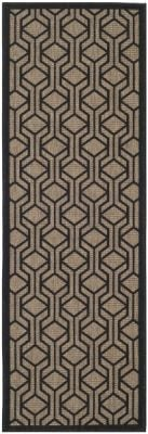 Catalonia Outdoor Rug Brown / Black (68 X 200 cm)