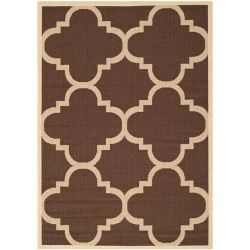 Mali Outdoor Rug Dark Brown (160 X 231 cm)