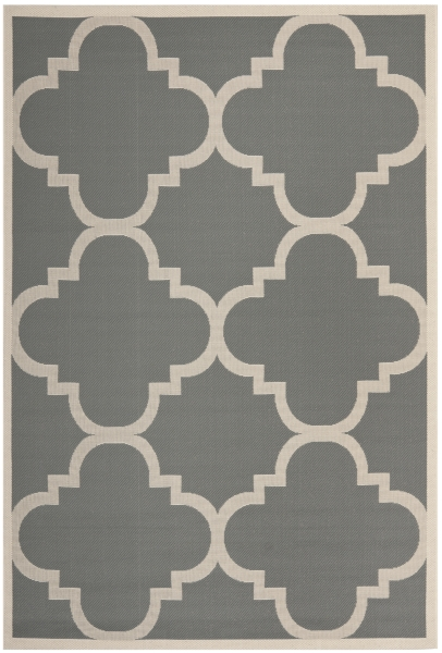 Mali Outdoor Rug Grey / Beige (121 X 170 cm)
