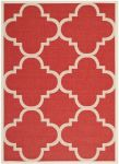 Mali Outdoor Rug Red (60 X 109 cm)