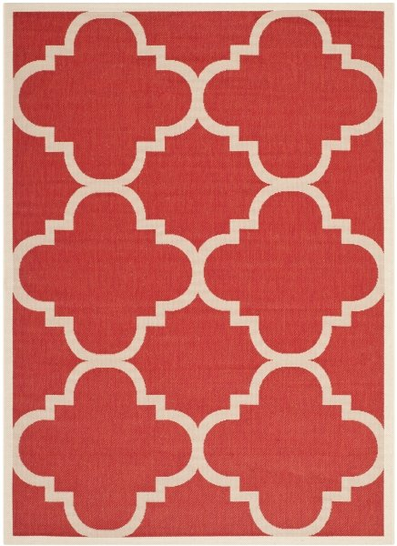 Mali Outdoor Rug Red (200 X 289 cm)