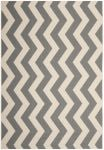 Amalfi Outdoor Rug Grey / Beige (60 X 109 cm)