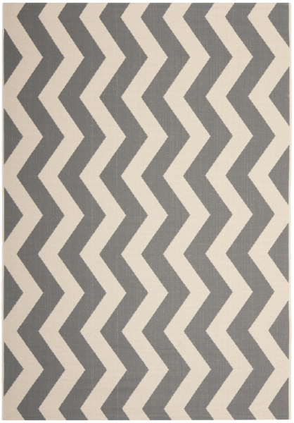 Amalfi Outdoor Rug Grey / Beige (200 X 289 cm)