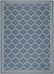 Chloe Outdoor Rug Blue / Beige (78 X 152 cm)