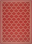 Chloe Outdoor Rug Red / Beige (60 X 109 cm)