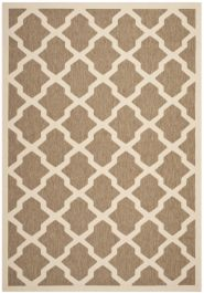 Samanna Outdoor Rug Brown / Bone (160 X 231 cm)