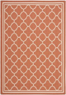 Bleeker Outdoor Rug Terracotta / Bone (121 X 170 cm)
