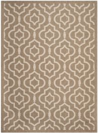 Mykonos Outdoor Rug Brown / Bone (121 X 170 cm)