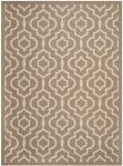 Mykonos Outdoor Rug Brown / Bone (60 X 109 cm)