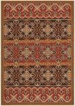 Akot Outdoor Rug Red / Chocolate (78 X 152 cm)