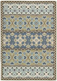Akot Outdoor Rug Green / Blue (160 X 231 cm)