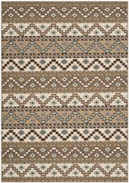 Una Outdoor Rug Creme / Brown (200 X 289 cm)