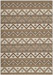 Una Outdoor Rug Creme / Brown (121 X 170 cm)