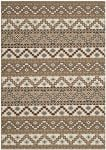 Una Outdoor Rug Creme / Brown (78 X 152 cm)