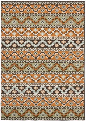 Una Outdoor Rug Terracotta / Chocolate (160 X 231 cm)