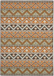 Una Outdoor Rug Terracotta / Chocolate (121 X 170 cm)