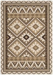 Tikota Outdoor Rug Creme / Brown (200 X 289 cm)