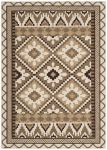 Tikota Outdoor Rug Creme / Brown (121 X 170 cm)