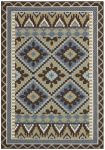 Tikota Outdoor Rug Green / Chocolate (78 X 152 cm)