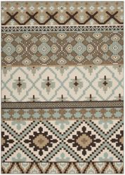 Sihora Outdoor Rug Creme / Brown (160 X 231 cm)