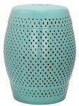 Diamond Garden Stool Robins Egg Blue