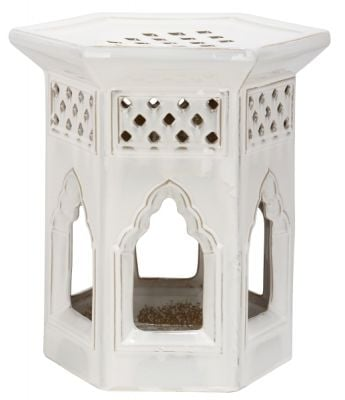 Moroccan Garden Stool Cream